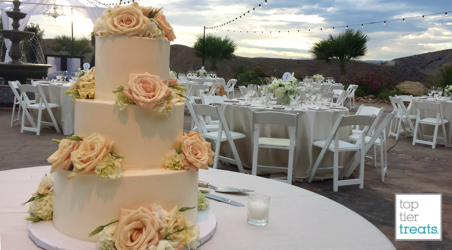 Wedding Cakes – Top Tier Treats